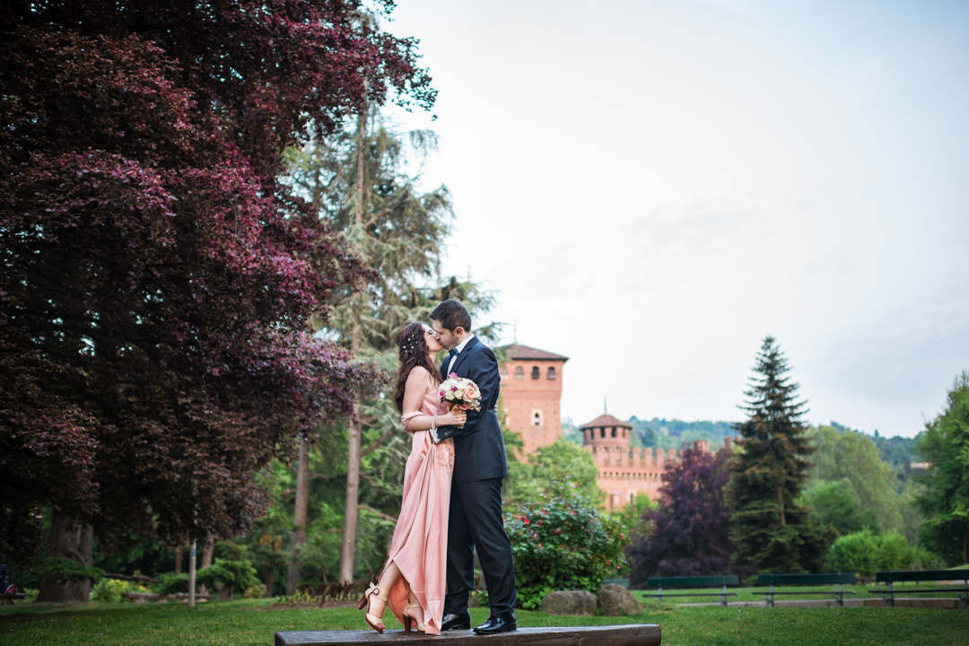 Wedding photographer in Italy, wedding ceremony in Turin, Piedmont