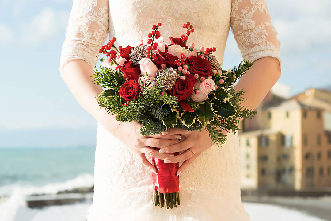 bride bouquet camogli