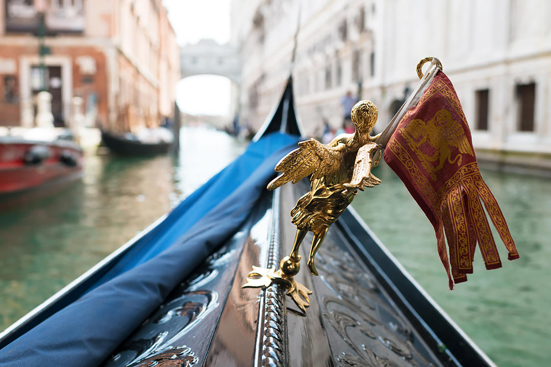 gondola venice official wedding