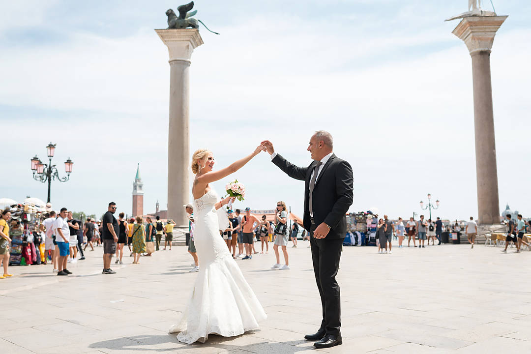 piazza san marco wedding set
