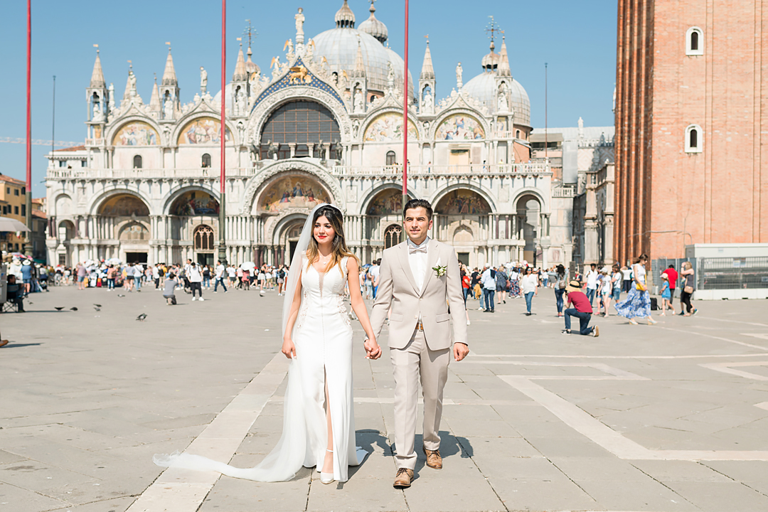 piazza san marco wedding venice