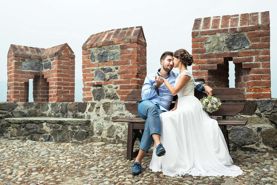romantic wedding shooting italy ivrea