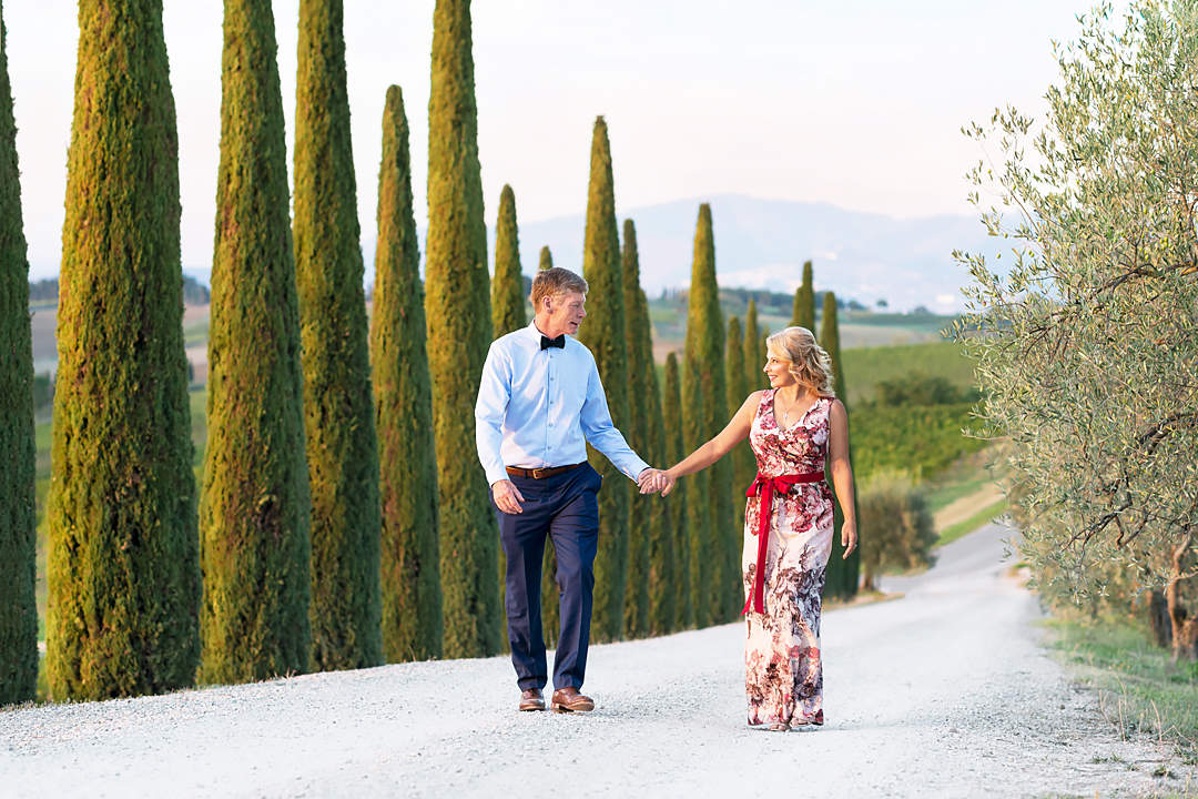 symbolic wedding in tuscany rhonda
