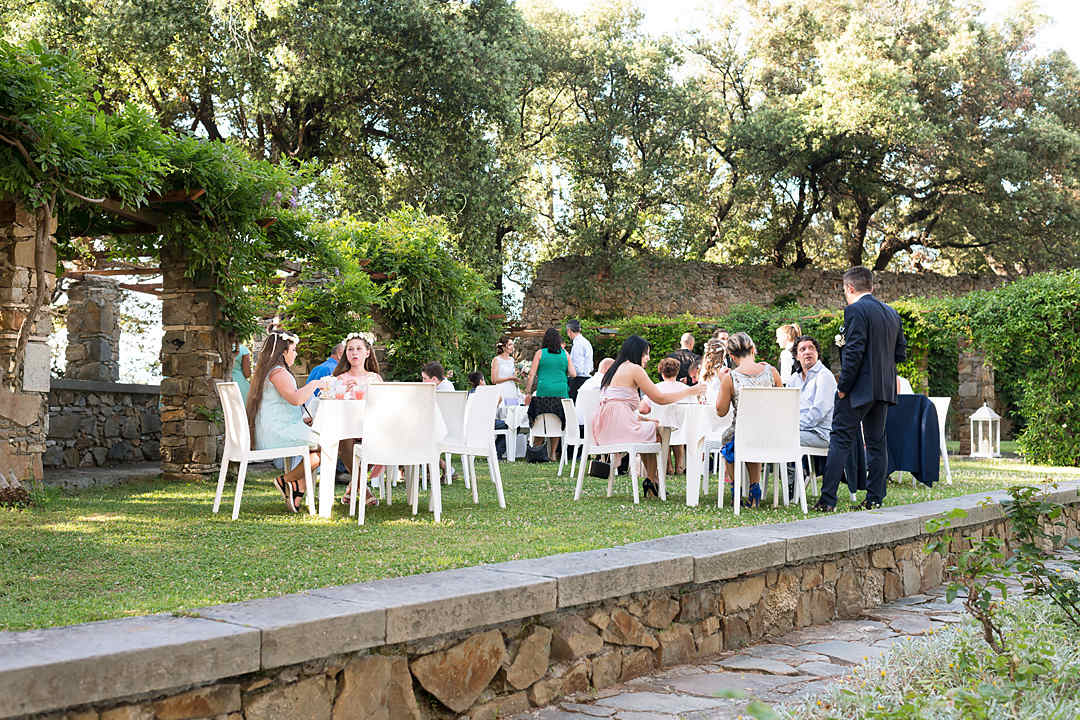wedding aperitif liguria