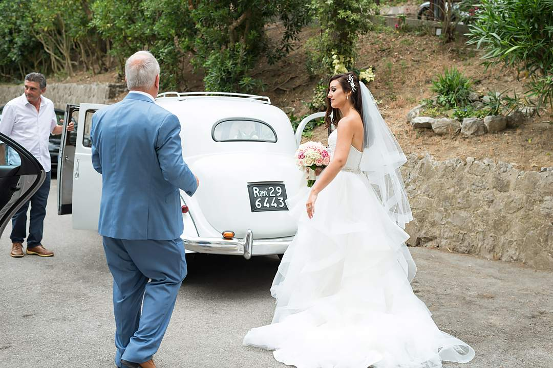 wedding auto retro sorrento