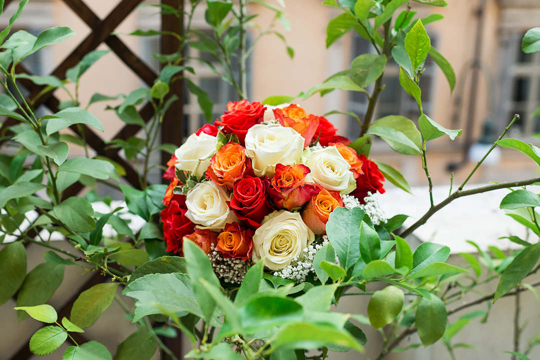 wedding bouquet turin