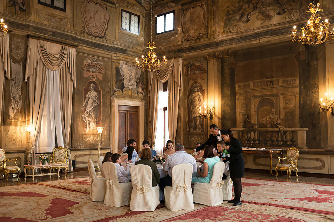 wedding dinner hotel ca sagredo venice