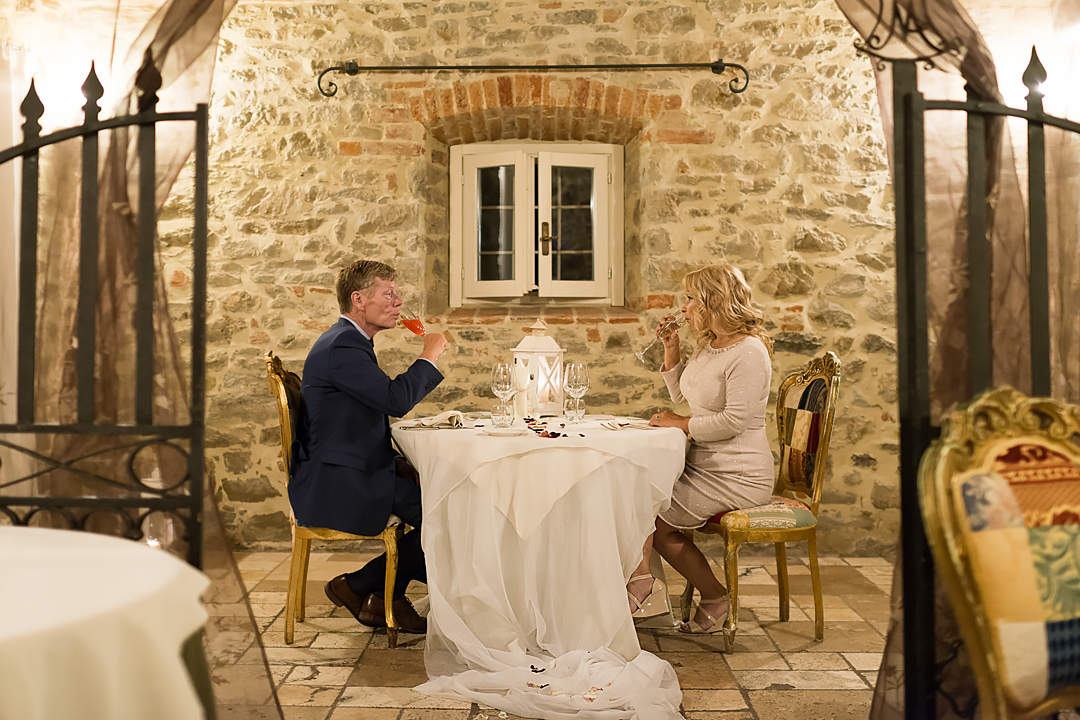 wedding dinner umbria rhonda
