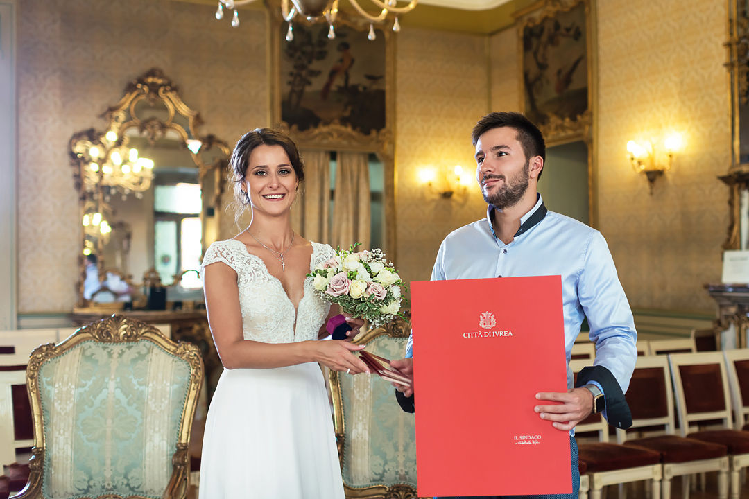 wedding in italy piedmont ivrea