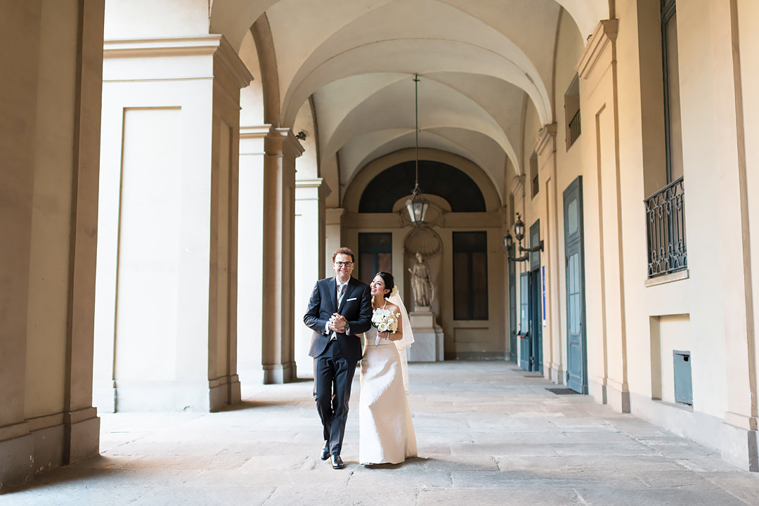 wedding in turin love story