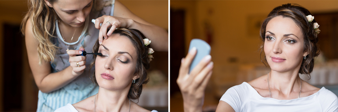 wedding make up artist in italy