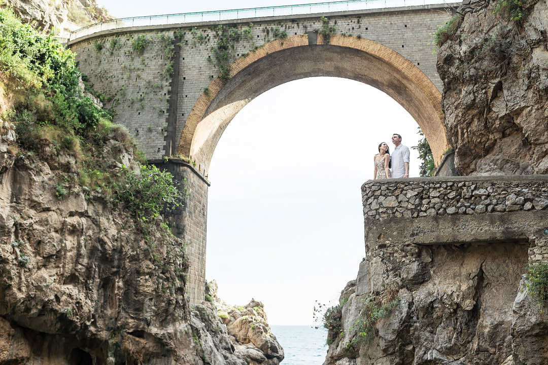 wedding photo session in positano