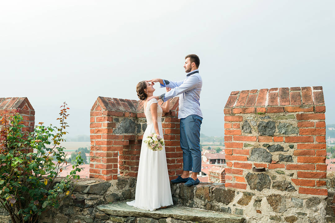 wedding photographer in italy piedmont pavone