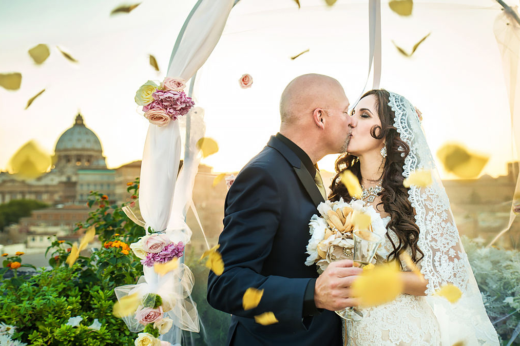 wedding photographer in rome in italy