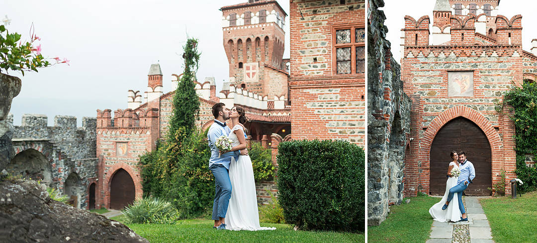 wedding photos italy castle