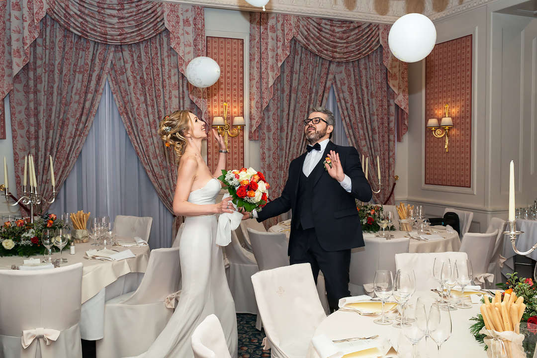 wedding reception grand hotel sitea