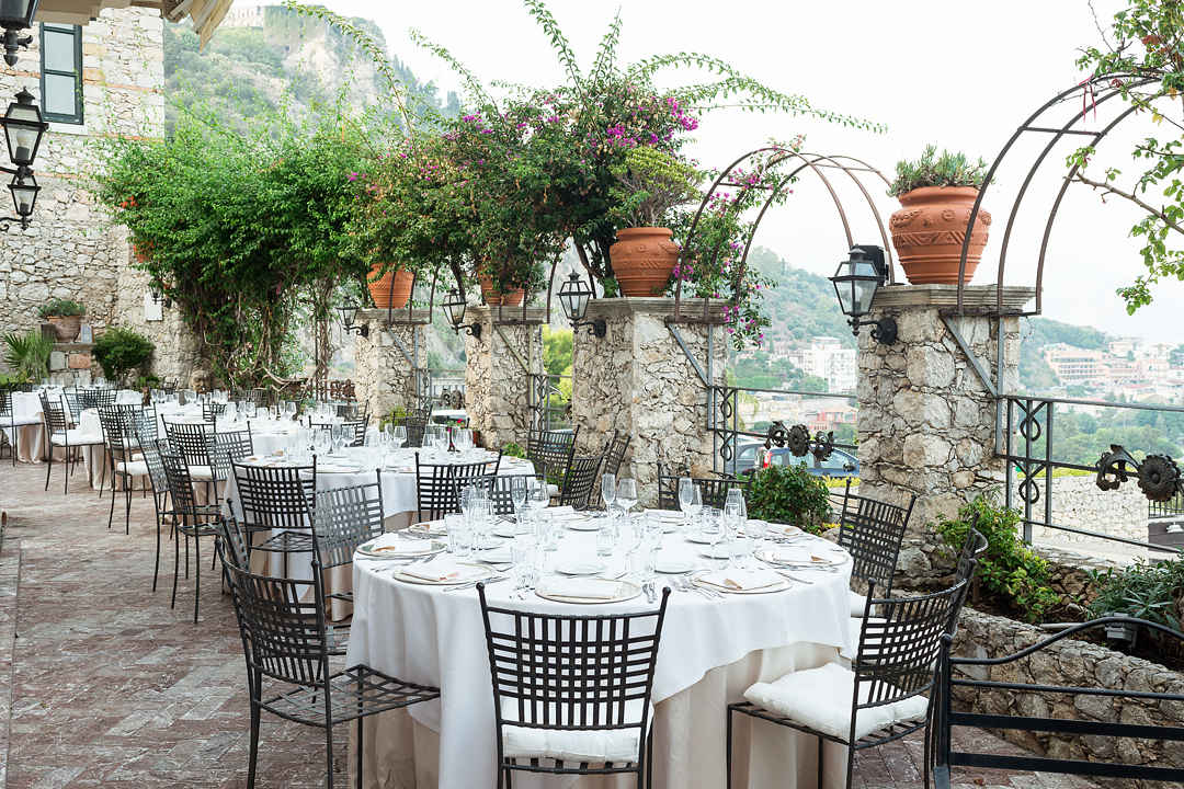 wedding reception in taormina